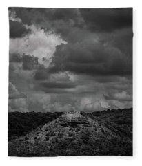 Hill Country Vista Fleece Blanket