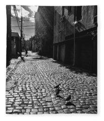 Hoboken Cobblestones Fleece Blanket