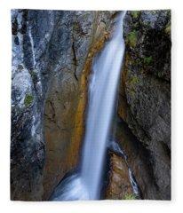 Hoelltobel, Allgaeu Alps Fleece Blanket