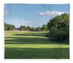 Hole #11 Fleece Blanket