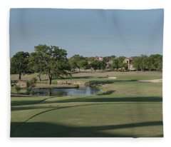 Hole #17 Fleece Blanket