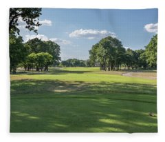 Hole #4 Fleece Blanket