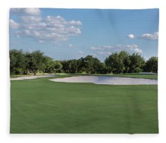Hole #8 Fleece Blanket