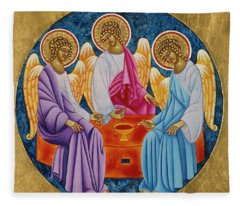 Holy Trinity Fleece Blanket