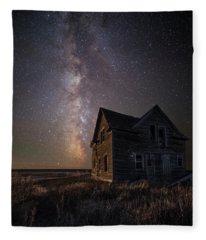 Homesick  Fleece Blanket