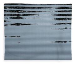 Horizontals Fleece Blanket