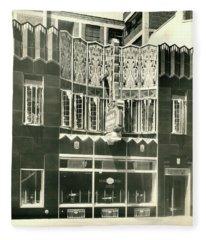 Horn And Hardart, S 18th St., Philadelphia Fleece Blanket