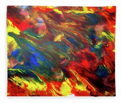 Hot Colors Coolling Fleece Blanket