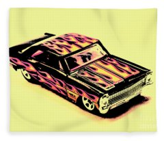 Hot Wheels Fleece Blanket
