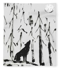 Howl #2 Fleece Blanket