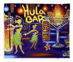 Hula Bar Fleece Blanket