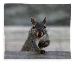 I Am Back Fleece Blanket