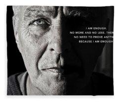 I Am Enough - Part 1 Fleece Blanket