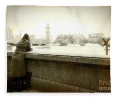 I Will Remember Fleece Blanket