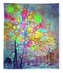 I Will Shine For You, Even In This Storm Fleece Blanket