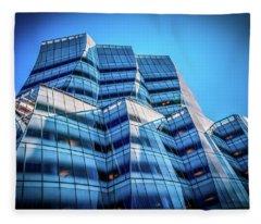Iac Frank Gehry Building Fleece Blanket