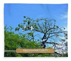 Ibis Risen - Virgin Nature Series Fleece Blanket