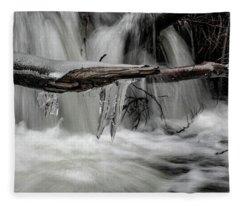 Ice Age At The Ilse Fleece Blanket
