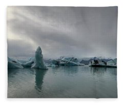 Ice Lagoon Fleece Blanket