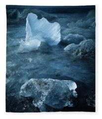 Ice Shells Fleece Blanket