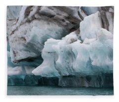Iceberg 1 Fleece Blanket