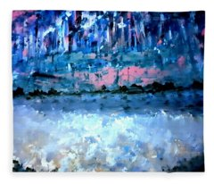Icy Lake Fleece Blanket