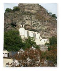 Idar-oberstein Felsenkirche Fleece Blanket