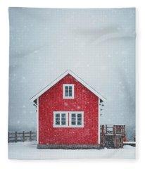 If My Heart Was A House Fleece Blanket