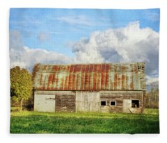 If These Forgotten Walls Could Talk Fleece Blanket