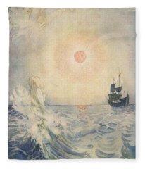 The Little Mermaid, Illustration From  Fleece Blanket