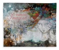 Imagine Possibilities Fleece Blanket