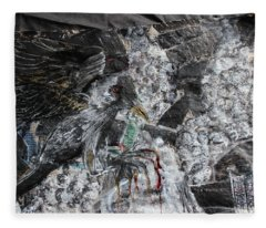 Immersed And Flawed By Cash Flow Fleece Blanket
