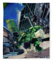 Immortal Hulk #4 Fleece Blanket