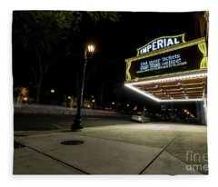 Imperial Theatre Augusta Ga Fleece Blanket