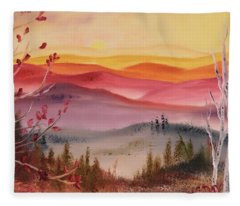 Impermanence Fleece Blanket