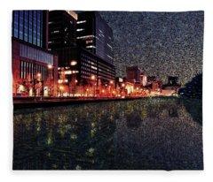 Impression Of Tokyo Fleece Blanket