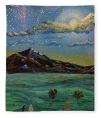 In My Dreams Fleece Blanket