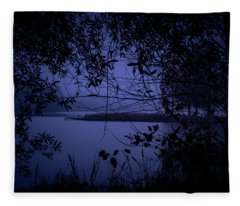 In The Darkness Fleece Blanket