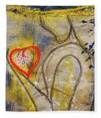 In The Golden Age Of Love And Lies Fleece Blanket