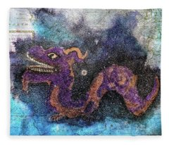 In The Night Sky  Fleece Blanket