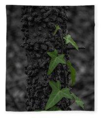 Industrious Ivy Fleece Blanket