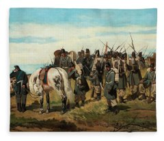 Infantry Fleece Blanket