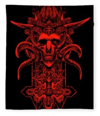 Insidious Intentions Fleece Blanket
