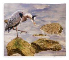 One Step At A Time Fleece Blanket