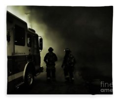 Into The Fight Fleece Blanket