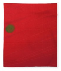 Inverse Sunset Fleece Blanket
