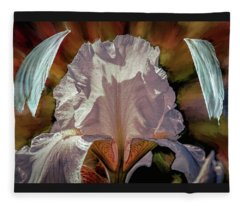 Iris And Angel #i8 Fleece Blanket