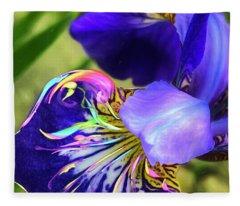 Iris Osirus Fleece Blanket