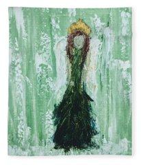 Irish Angel  Fleece Blanket