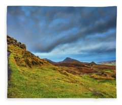 Isle Of Skye Landscape #i1 Fleece Blanket